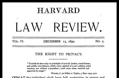El origen de la Protección de Datos Personales: Una historia para los hijos de la protección de datos, del derecho a ser dejado en paz al famoso derecho a la intimidad.