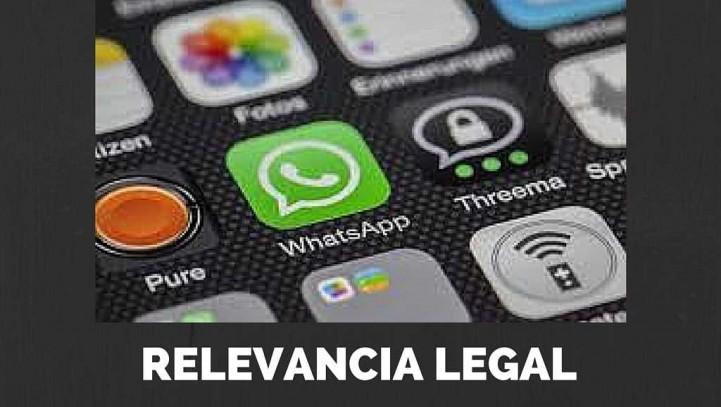 Trascendencia Legal del Nuevo Cifrado de Whatsapp